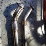Jamie Fisher Completed Downpipe